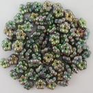 #01.19 50 Stück Blüten 5 mm - crystal vitrail full