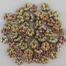 #01.25 50 Stück Blüten 5 mm - crystal marea full