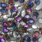 #15 - 50 Stck. PRECIOSA Pip Bead™ 5x7 mm crystal vitrex