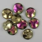 01 - 10 Stück Preciosa® Ripple™ (12mm) california medows