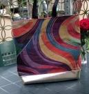1 Tasche Swirl Größe ohne Griffe ca. 45x45 cm, mit Griffe ca. 80cm Höhe
