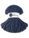 1 m Bobbiny Premium Baumwollkordel in Jeans - Ø 5 mm
