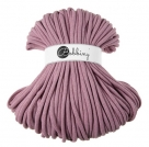 1 m Bobbiny Premium Baumwollkordel in Dusty Pink - Ø 9 mm