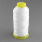 Nähgarn 0,3mm weiß 100% Polyester (glänzend) - 1700m (150D/3)