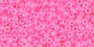 10 g TOHO Seed Beads 11/0 TR-11-0910 - Cylon Hot Pink (E,F)