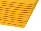 1 Filzmatte ca. 20x30 cm - senf - ca. 1,5-2 mm dick