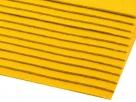 1 Filzmatte ca. 20x30 cm - eigelb - ca. 2-3 mm dick
