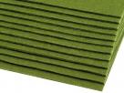 1 Filzmatte ca. 20x30 cm - olivgrün - ca. 2-3 mm dick