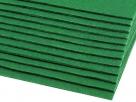 1 Filzmatte ca. 20x30 cm - grün - ca. 2-3 mm dick