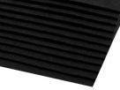 1 Filzmatte ca. 20x30 cm - schwarz - ca. 2-3 mm dick