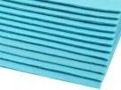 1 Filzmatte ca. 20x30 cm - blau - ca. 2-3 mm dick