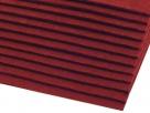 1 Filzmatte ca. 20x30 cm - bordeaux - ca. 2-3 mm dick
