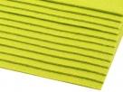 1 Filzmatte ca. 20x30 cm - gelbgrün - ca. 2-3 mm dick