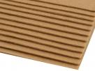 1 Filzmatte ca. 20x30 cm - karamell - ca. 2-3 mm dick