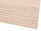 1 Filzmatte ca. 20x30 cm - nature - ca. 2-3 mm dick