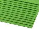1 Filzmatte ca. 20x30 cm - lindgrün - ca. 2-3 mm dick
