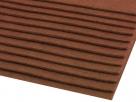 1 Filzmatte ca. 20x30 cm - milchkaffee - ca. 2-3 mm dick