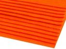 1 Filzmatte ca. 20x30 cm - orange - ca. 2-3 mm dick