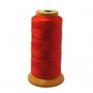 1 Kone Nähgarn 0,1mm - Rot - 100% Nylon - 800m