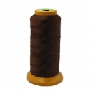 1 Kone Nähgarn 0,1mm - Braun - 100% Nylon - 800m