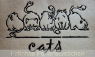 Stickdatei - 5-Cats