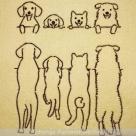 Stickdatei - 4-Dogs