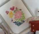 Stickdatei Blüten_Cosmea