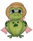 Stickdatei Frosch #4
