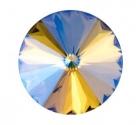 1 Glas-Rivoli 08 mm - Paradise Shine - Rückseite: foliert