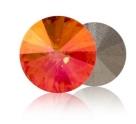 1 Glas-Rivoli 12 mm - Copper - Rückseite: foliert