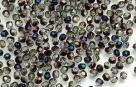 #05 50 Stück - 3,0 mm Glasschliffperlen - crystal purple iris