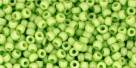 10 g TOHO Seed Beads 11/0 TR-11-0044 - Opaque Sour Apple