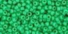 5g TOHO SeedBeads 15/0 TR-15-0047 D - Opaque Dark Green