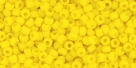 10 g TOHO Seed Beads 11/0 TR-11-0042 BF - Opaque-Frosted Sunshine