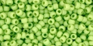 10 g TOHO Seed Beads 11/0 TR-11-0044 F - Opaque-Frosted Sour Apple