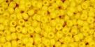 5g TOHO SeedBeads 15/0 TR-15-0042 B - Opaque Dk Yellow