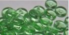 #23 - 50 Stück Lentils 6x2,5 mm tr.-lime green