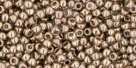 10 g TOHO Seed Beads 11/0 TR-11-0204 - Gold-Lustered Montana Blue (C)