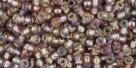 10 g TOHO Seed Beads 11/0 TR-11-2026 -Silver-Lined Rainbow Amethyst