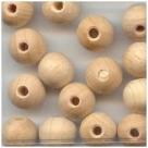 10 Stück Holzkugeln ca. 10 mm