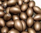 10 Stück Kunststoff-Olive ca. 13 x 20 mm