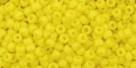 10 g TOHO Seed Beads 11/0 TR-11-0042 - Opaque Dandelion