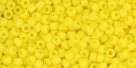10 g TOHO Seed Beads 11/0 TR-11-0042 F - Opaque-Frosted Dandelion