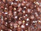 #86 50 Stück - 4,0 mm Glasschliffperlen - chrystal Apollo