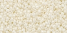 5g TOHO SeedBeads 15/0 TR-15-0122 - Opaque Navajo White Lustered