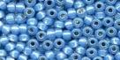 10 g TOHO Seed Beads 11/0 TR-11-2102 - Sapphire Opal Silver-Lined (A,B,D)