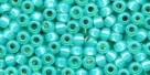 10 g TOHO Seed Beads 11/0 TR-11-2104 -  Turquoise Opal Silver-Lined (A,B,D)