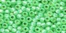 10 g TOHO Seed Beads 11/0 TR-11-2103 -  Lime Opal Silver-Lined (A,B;D)