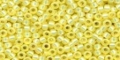 10 g TOHO Seed Beads 11/0 TR-11-2109 - Jonquil Opal Silver-Lined (A,B;D)