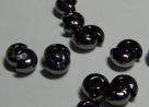10 Stück Klappkugel ø 4 mm - black oxyd - glatt